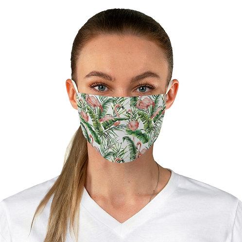 Fabric Face Mask - Flamingo palm
