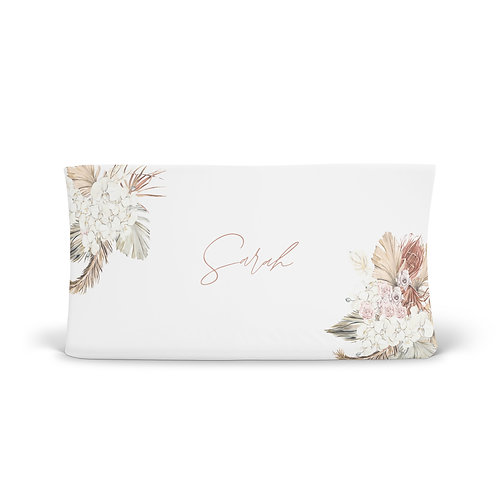 Personalized Changing Pad - Classic floral