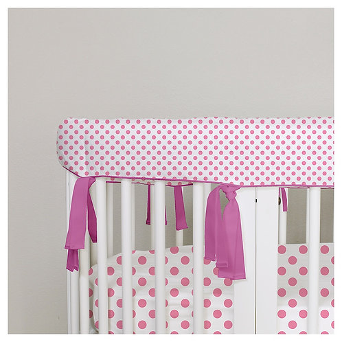 Sleepi teething rail guard - polka dot