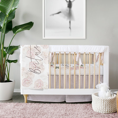 DYO - Custom 3pc Crib Set - Royal ballet