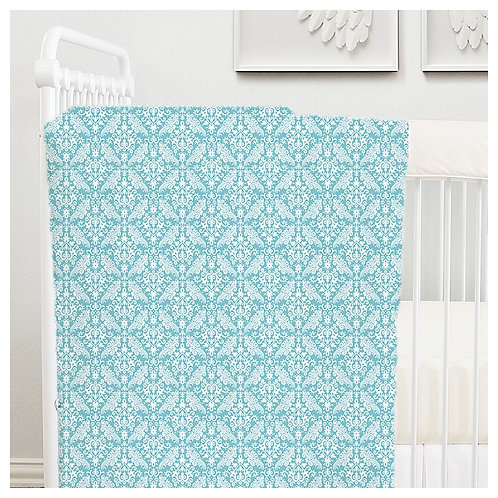 toddler duvet cover - aqua