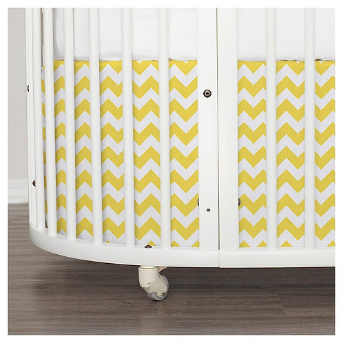 Stokke sleepi skirt - gray & yellow