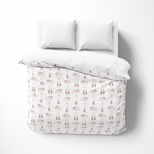 Personalized comforter - Ballet slippers