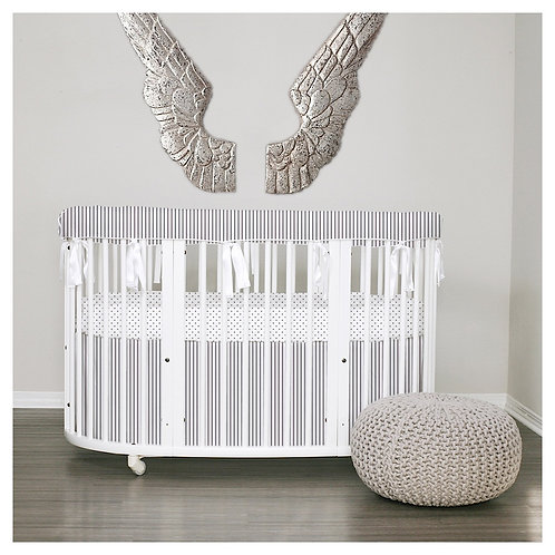 Stokke sleepi rail guard 3pc set - silver