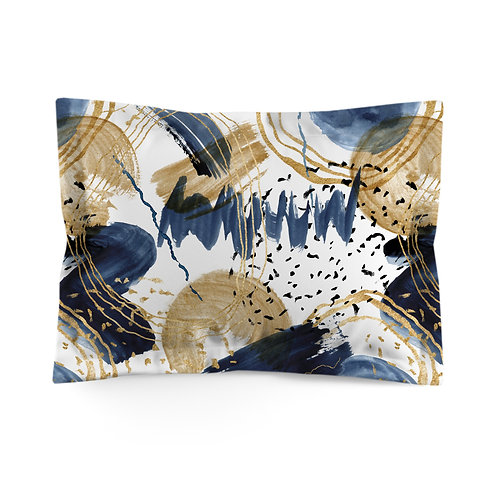 Flanged pillowcase - Neptune