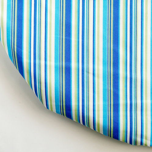 Clearance oval fitted sheet - Blue