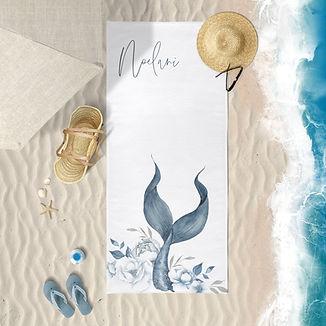 Beach Towel Mermaid tail.jpg