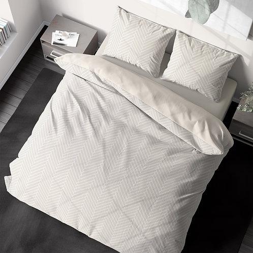 Duvet cover - Herringbone pattern