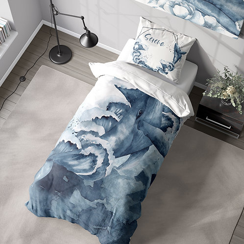 DYO - Custom Toddler Duvet Cover - Mermaid