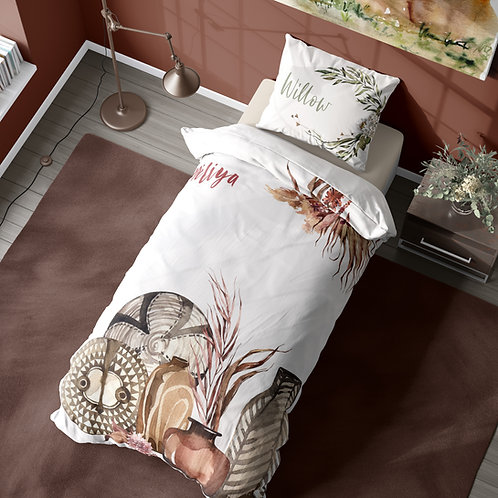 Personalized duvet cover - Out of Africa Objects