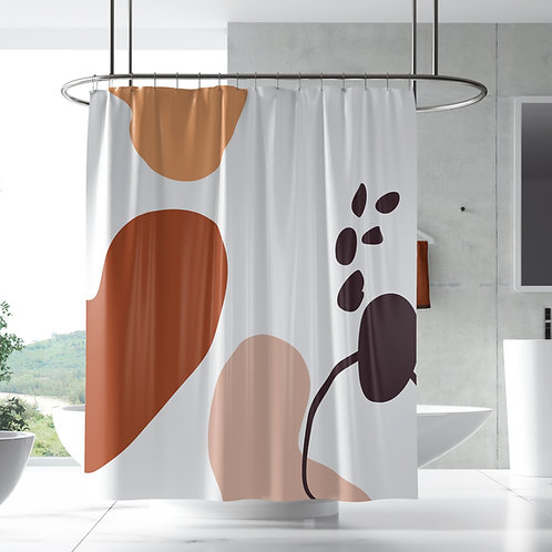 DYO - Shower Curtain Modern Abstract