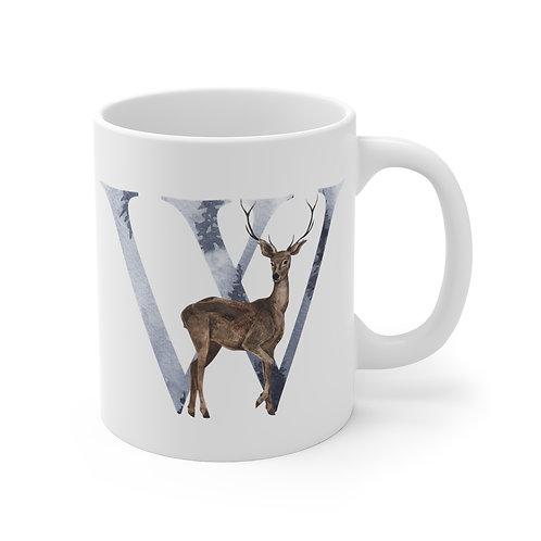 Ceramic Mug - Winter Alphabet