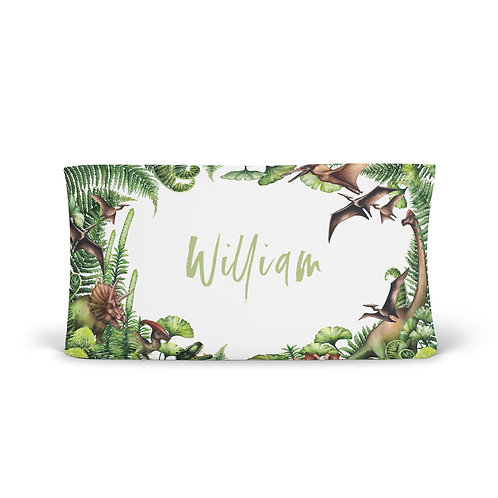 Personalized Changing Pad - Jurassic park