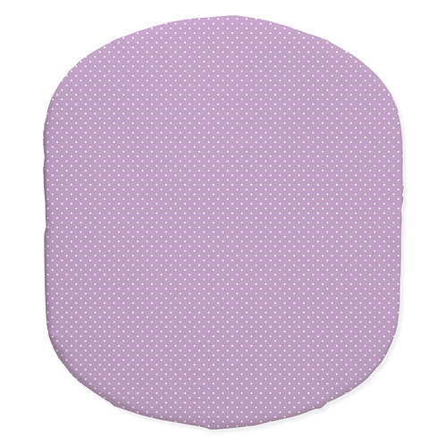 Hula bassinet fitted sheet - lavender