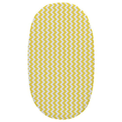 Stokke junior fitted sheet - gray & yellow