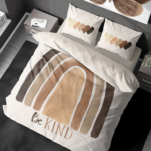 Personalized duvet cover - BLM Rainbow