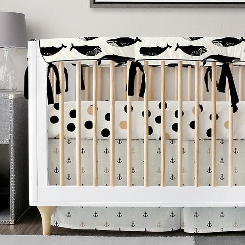 Crib 3pc set - Organic BWG