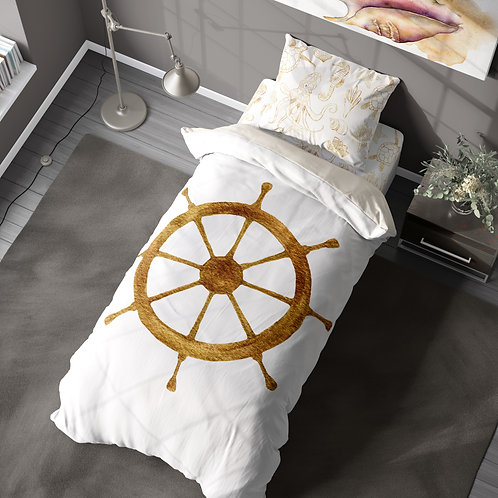Personalized duvet cover - ocean