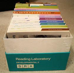 A Box of Nostalgia: The SRA Reading Laboratory