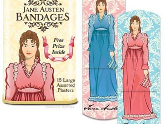Jane Austen makes boo-boos all better!