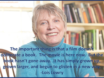 Lois Lowry on The Giver movie