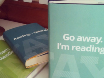 Go away, I'm reading!
