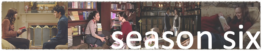 Reading books referenced on season six of Gilmore girls