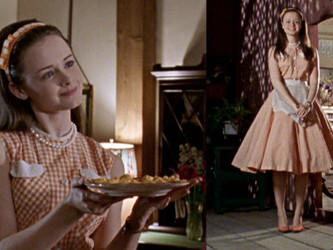Rory Gilmore... in the 60s?