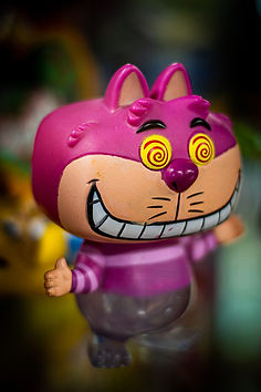 Cheshire Cat doll