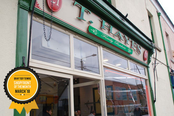 Bray Tidy Towns Shopfront of the Month