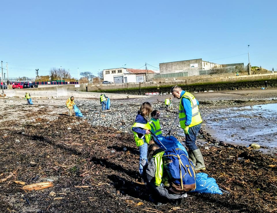 Clean Up at Bray Harbour for Earth Day