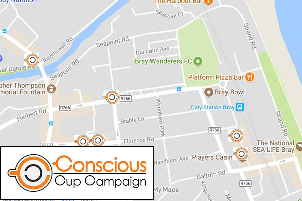 More Bray Cafes Sign Up to The Conscious Cup Campaign