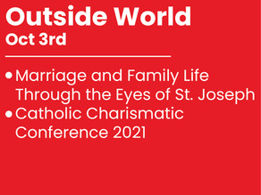 Oct., 3rd Outside World
