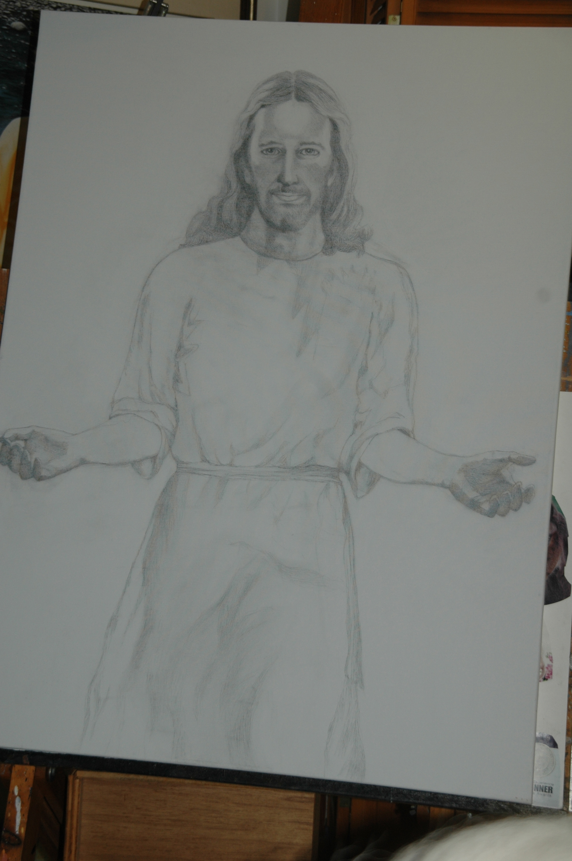 Sketch for Christ