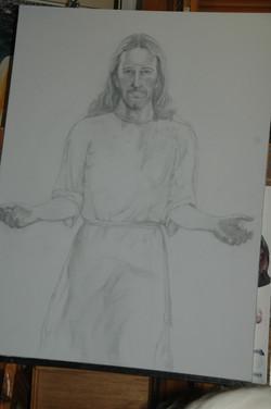 Sketch for Christ