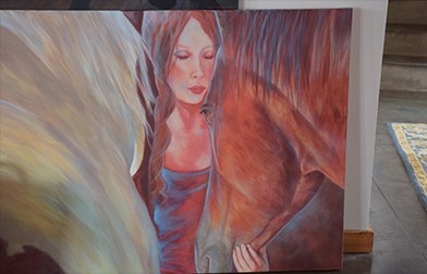 Click Here for Horse Therapy Art