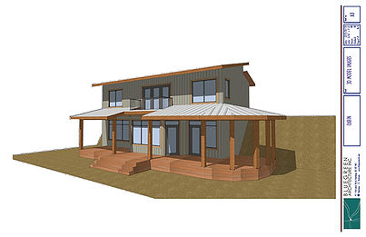 Equinisity Ranch House - 3D Render