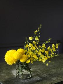 Yellow Pop Vase