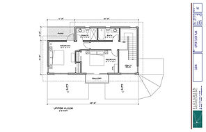 Equinisity Ranch House -Second Floor Plan