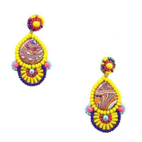 Nipa earrings by ZODA