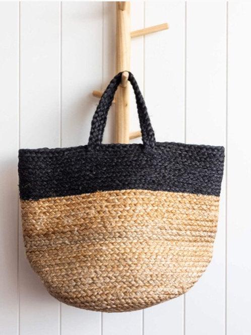Jute  Bag - Charcoal