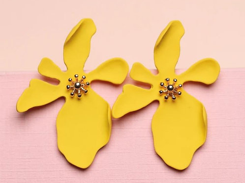 Orchid Large Studs