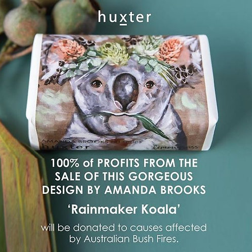 """Huxter Home """"Rainmaker Koala"""" Soap"""