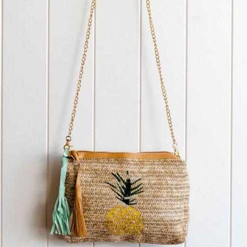 Pineapple Woven Bag