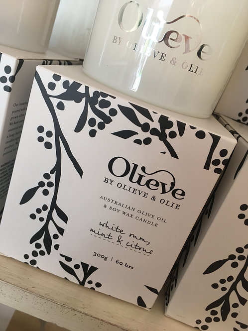Olieve and Olie Candles
