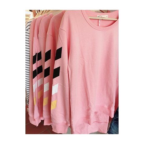 Gisele Sweater Flamingo Pink