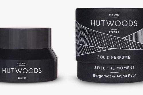 Hutwoods Solid Perfume - Bergamot & Anjou  Pear