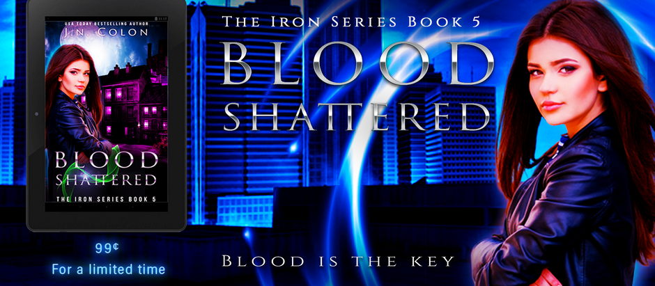 Blood Shattered Release Day!