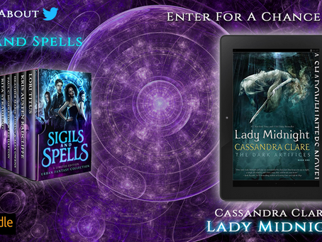 Win Lady Midnight by Cassandra Clare