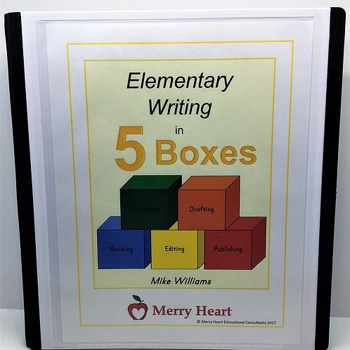 5 Boxes: Elementary Writing